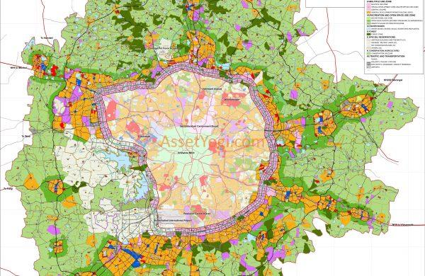 Hyderabad, Master plan, Real estate