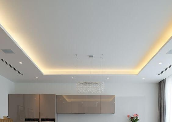 false ceiling lighting options