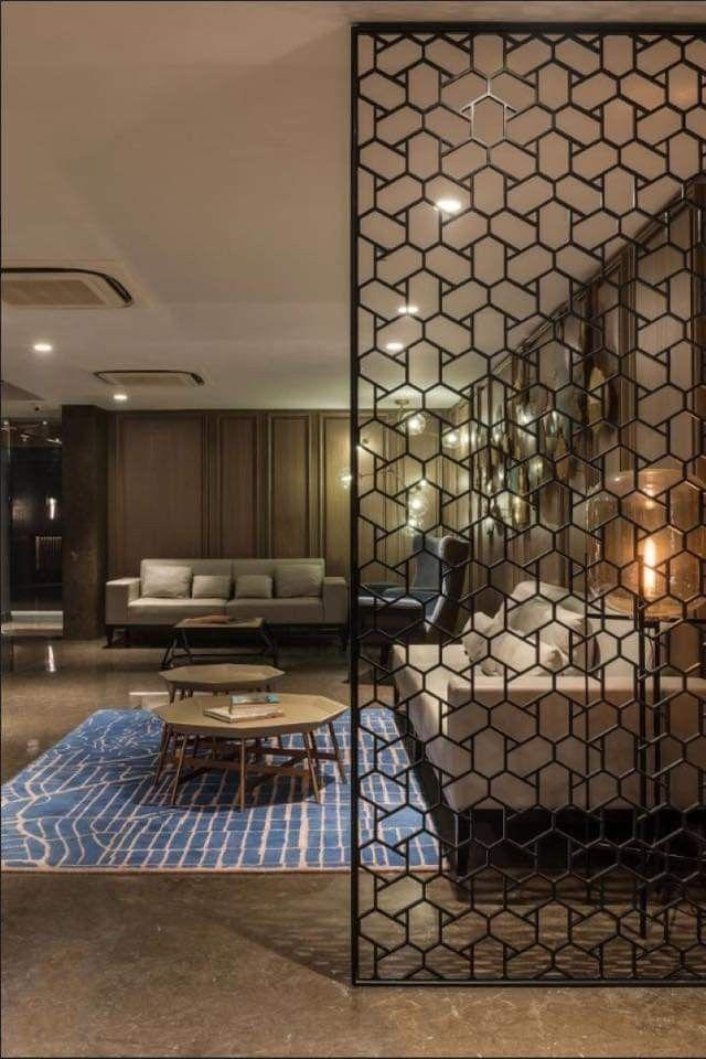 Pin by Dalida on Decoração   Room door design, Living room partition design, Room divider walls