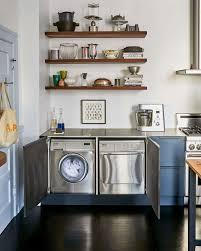 7 Ways to Sneak a Washer/Dryer Into the Kitchen