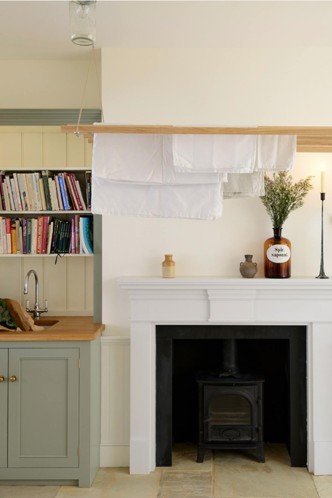 laundry room drying rack ideas