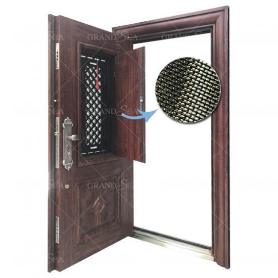 Best Ventilation Design Reinforced Metal Steel Safety Door For Homes China, Ventilation Design Reinforced Metal Steel Safety Door For Homes Suppliers    Cngrandsea.com
