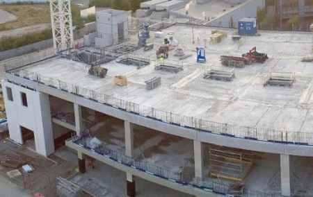 Reinforced concrete slab