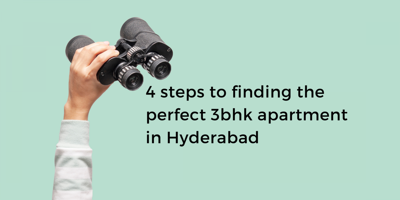 3 bhk apartment in hyderabad