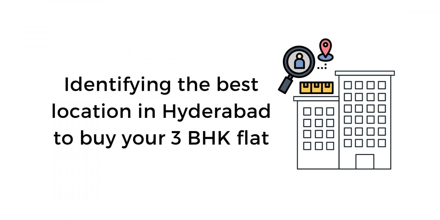 Identify 3 bhk flat