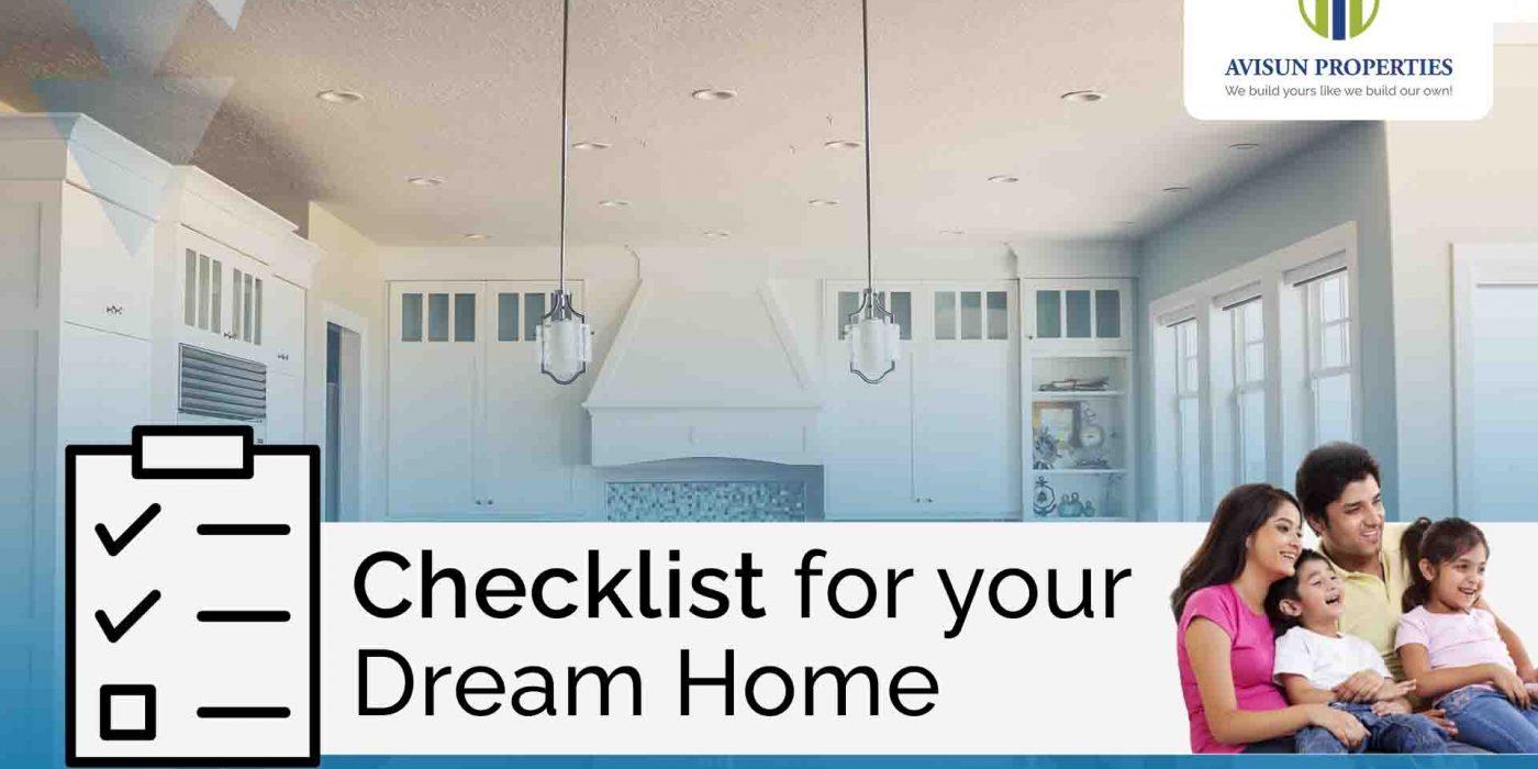 checklist 3 BHK