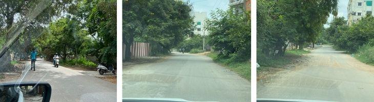 sainikpuri yapral locality lanes