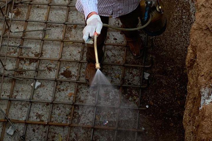anti-termite treatment for the foundation