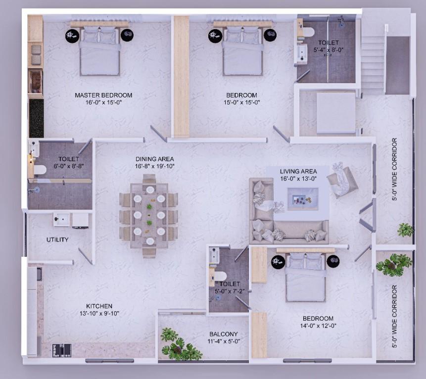 exclusive independent floor